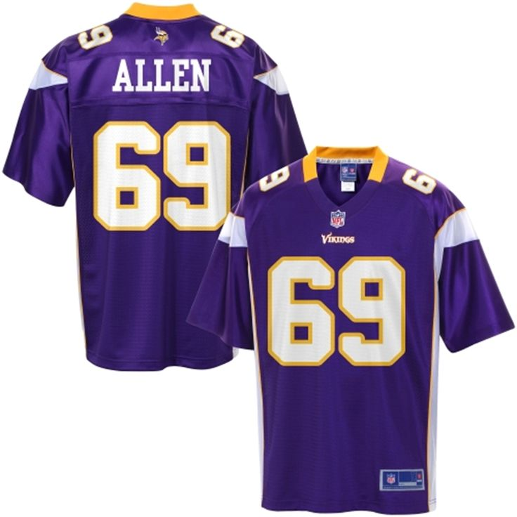 limited jersey pro line mens minnesota vikings jared allen team color jersey 15 or 16