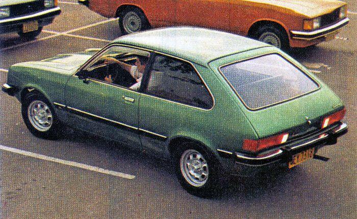 Chevette Hatch, a grande novidade da Chevrolet para 1980.