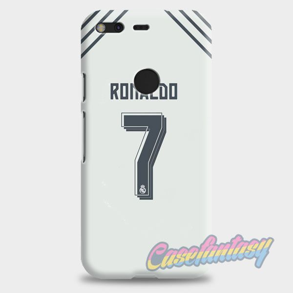 Cristian Ronaldo Real Madrid Jersey New Kit Google Pixel XL Case | casefantasy