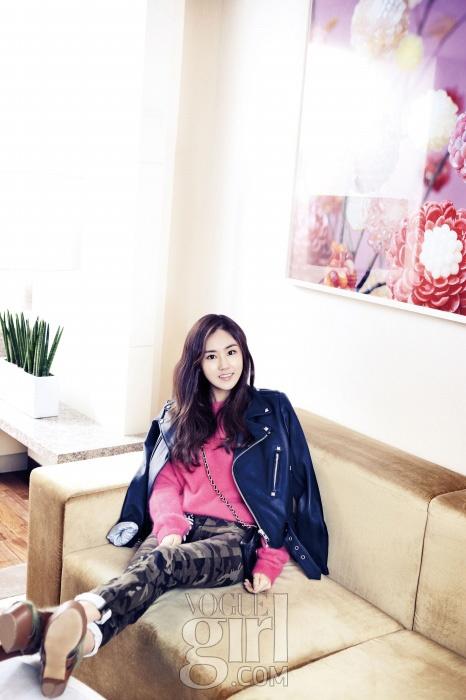 4minute's Heo Ga Yoon in Vogue Girl Korea January 2013