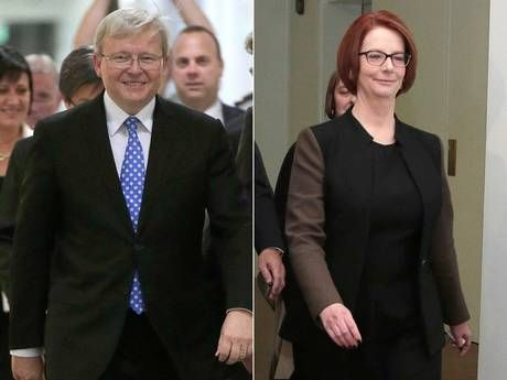 Julia Gillard ousted as Australian PM after losing leadership ballot to rival Kevin Rudd - Australasia - World - The Independent