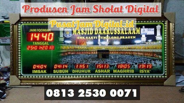 Jam Shalat Digital Di Musi Rawas Wa 0813 2530 0071 Pembuat Jam