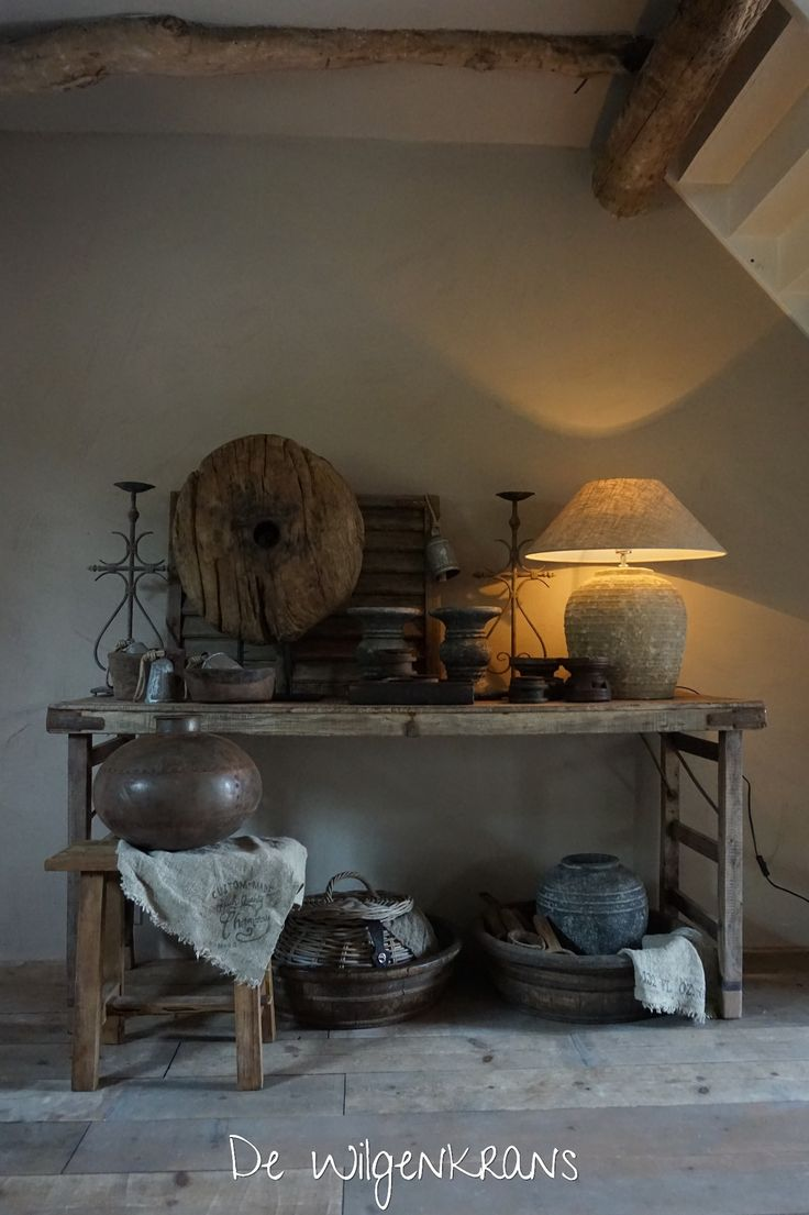 Landelijke stoere en sobere woonaccessoires inspiratie for Landelijk wonen interieur