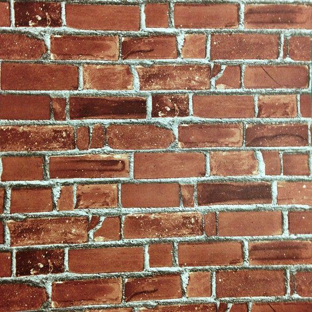 20008 Brick Effect Self Stick/Self Adhesive vinyl Wallpaper (Sticky Back Plastic)
