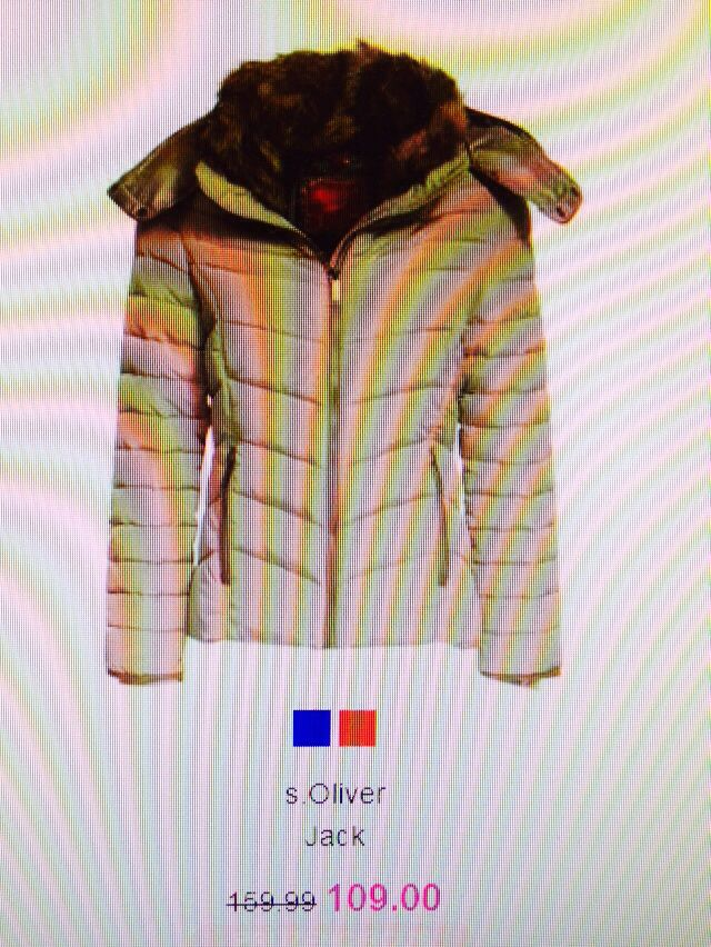 S'oliver jas