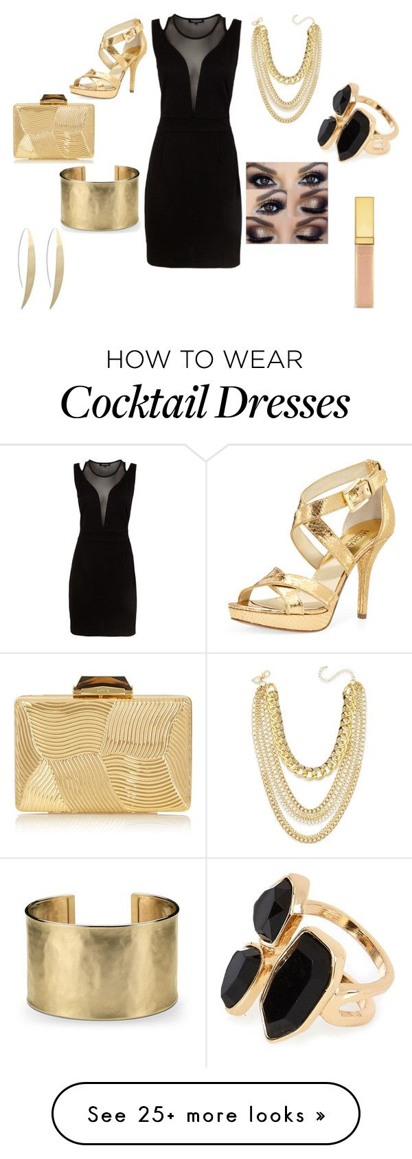 """Goin on a date"" by alexiscenter on Polyvore featuring Morgan, MICHAEL Michael Kors, KOTUR, Blue Nile, Thalia Sodi, River Island and AERIN"