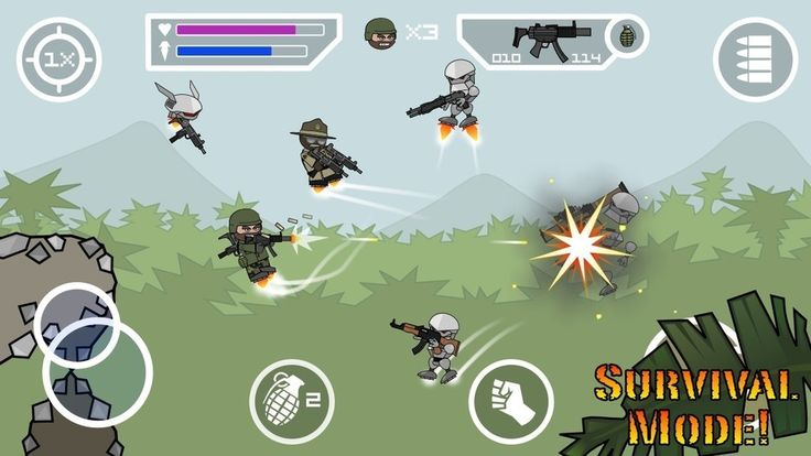 Doodle Army 2 Mini Militia Mod 2.2.52 Apk Pro Pack Unlocked for Android    Download here: http://downloadrom.gameandroid.info/doodle-army-2-mini-militia-mod.html