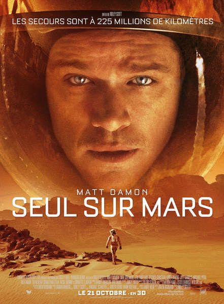 Seul sur Mars: un excellent film de science… et de fiction