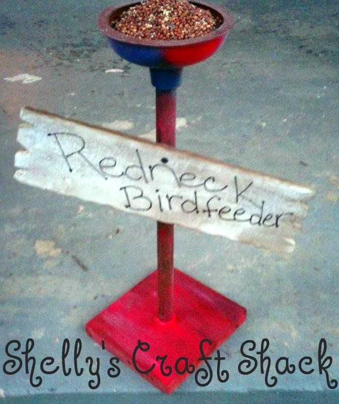 redneck crafts | ... Craft Shack . Thank you Shelly for sharing your work and story with us