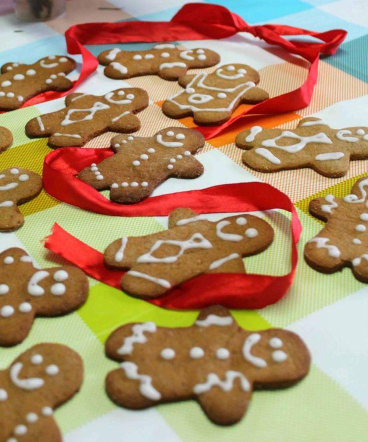 Bolachas de Gengibre Natalícias