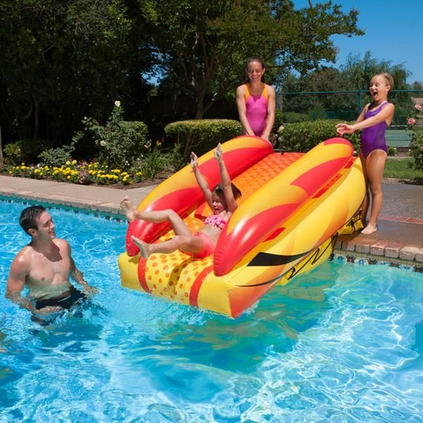 Best 25+ Pool slides ideas on Pinterest  Pool with slide, Swimming pools backyard and Pool with