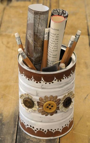 Material de bellas artes Estaño Regalo Mini