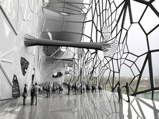 GEOtube is A Building That Grows Its Own Weblike Saline Skin | VANGUARQ