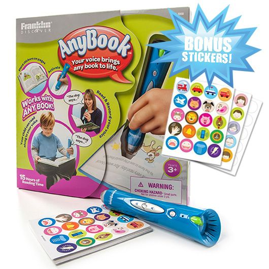 Today Only - AnyBook Reading Pen for Kids : $19.99 + Free S/H (reg. $79.98)