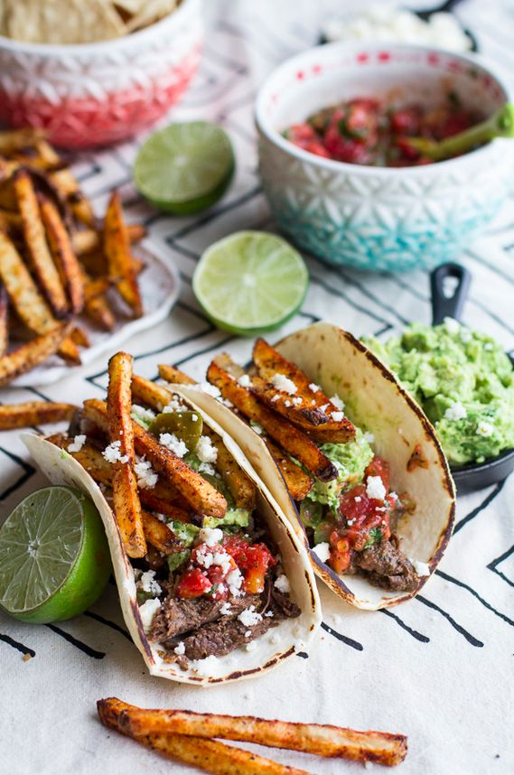 Loaded Crock Pot Carne Asada Tacos | 21 Mouthwatering Reasons To Eat Tacos All Day Long