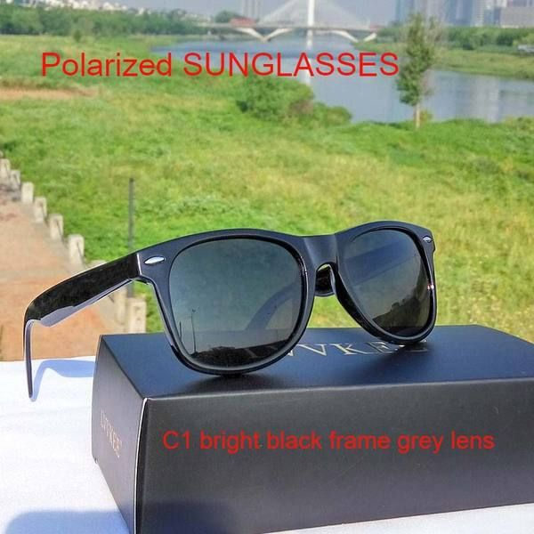 HOT LVVKEE brands Quality fashion Men Women Polarized lens Classic sunglasses UV400 HD sunglasses Travel Jacket 2140… #jackets #fashion