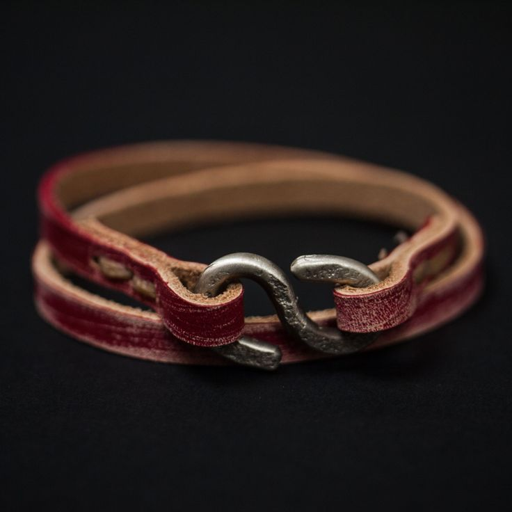 Billy Moore is a talented North Carolina--based craftsman who makes handsome leather goods with old-school equipment- his hands, a hammer, river rocks, and elbow-grease. His pieces are impressive for