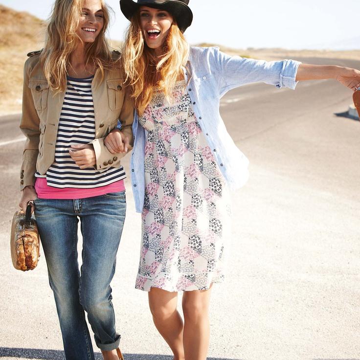 Hello Sunshine: fürhlingshafte Mode.