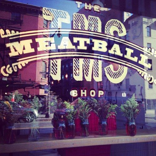 The Meatball Shop - NYC. One of my all time favorite restaurants. Great place to bring a guy.