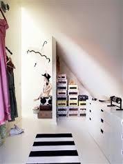 Bildresultat för walk in closet snedtak