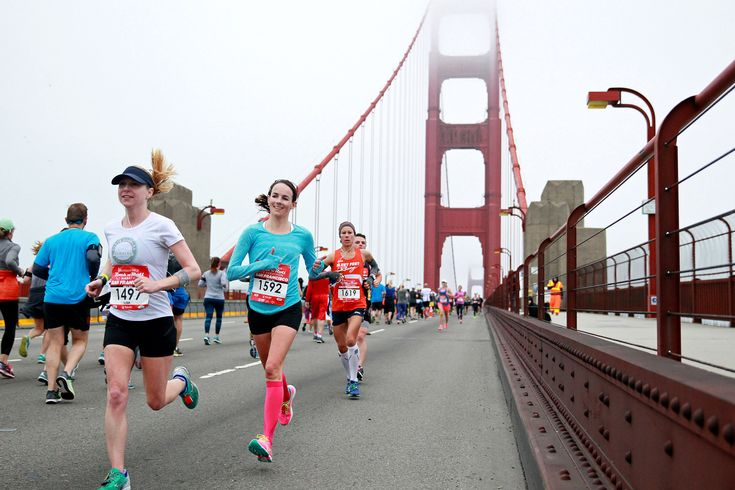 The United Airlines Rock 'n' Roll Half Marathon San Francisco leads runners over the Golden Gate Bridge for beautiful views of the Bay Area. Register today!