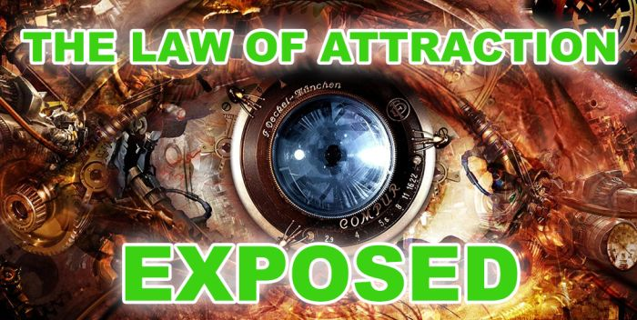 LESSON #1: The Law of Attraction – Exposed Check it out: http://www.attractionlawsecret.com/2014/08/18/the-law-of-attraction-exposed/