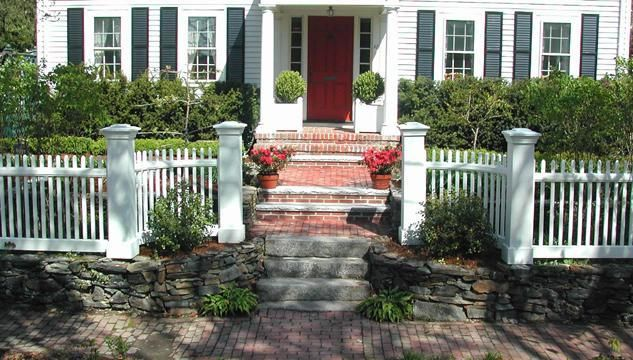 25+ Best Ideas About White Fence On Pinterest
