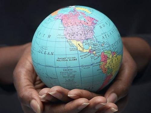 The world is in our hand