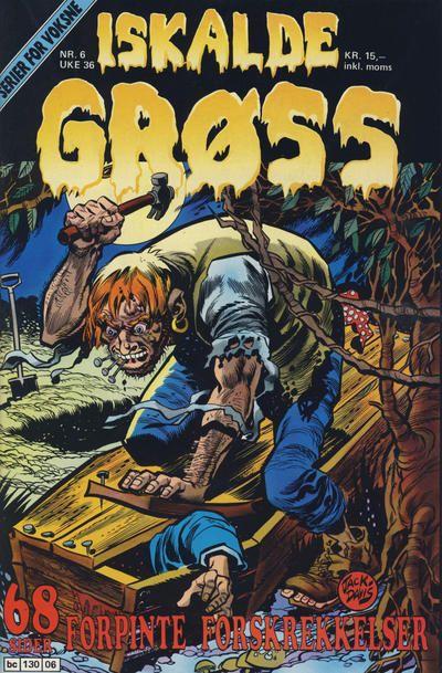 Cover for Iskalde Grøss (Semic, 1982 series) #6/1989