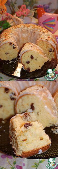 Быстрый Пасхальный кулич без дрожжей - кулинарный рецепт