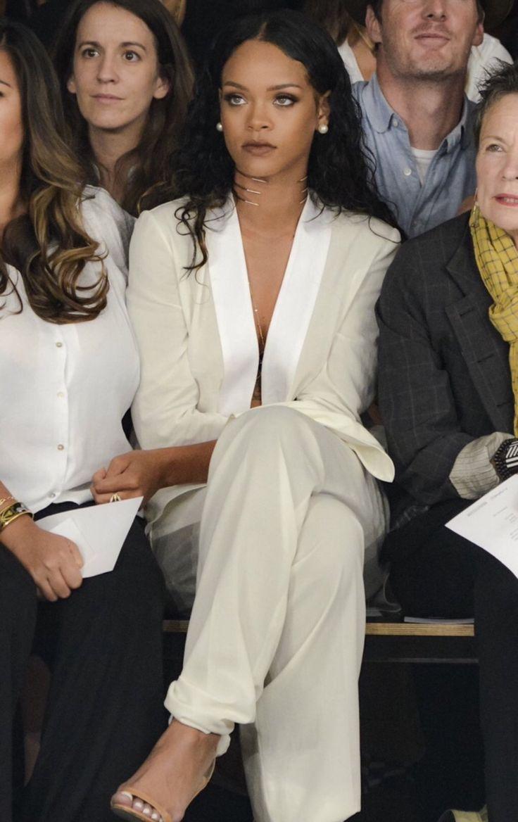Rihanna. #menswearinspired