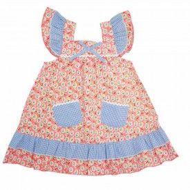 Oobi Holly Dress - Cherry Baby