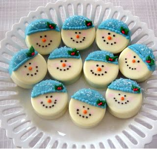 Party Frosting: Winter party ideas - Snowmen!