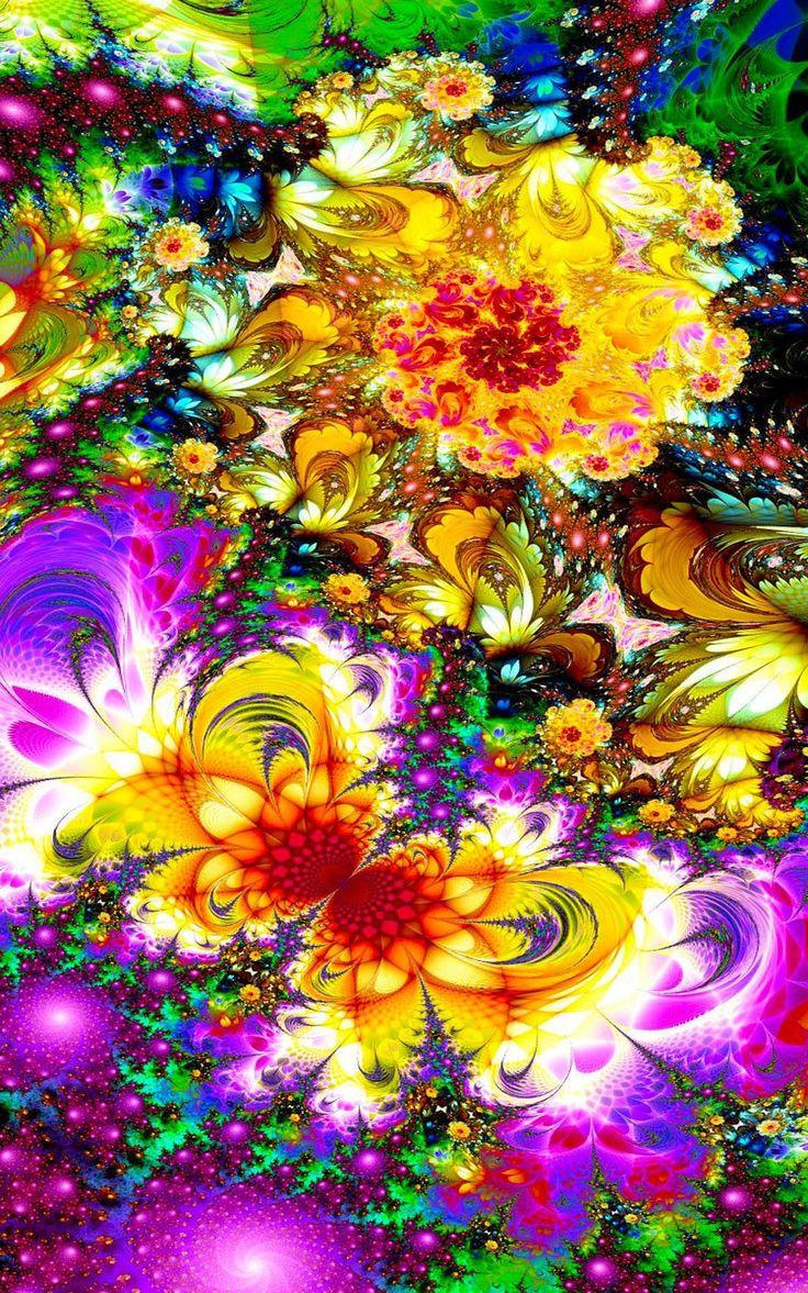 Color art digital - Activa Tus Sentidos Tu Imaginaci N Tu Brillo Vive Diferente Desde La Uni N Fractal Artfractalscolor