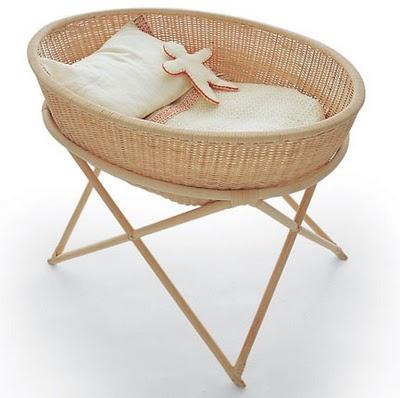 cradle: Baby Idea, Hands Made, Bebe, Baby Design, Wicker Cradle, Hanging Baskets, Baby Cradle, Kids Rooms, Baby Stuff