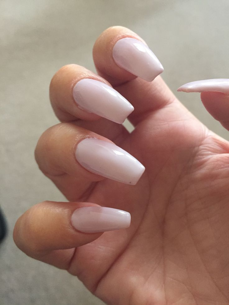 Coffin Nails In Dnd Gel Sweet Romance Nail Colors Gel Nails Gel Nail Colors