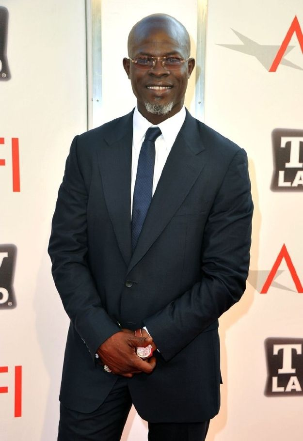 Djimon Hounsou | The 51 Hottest Black Men In Hollywood