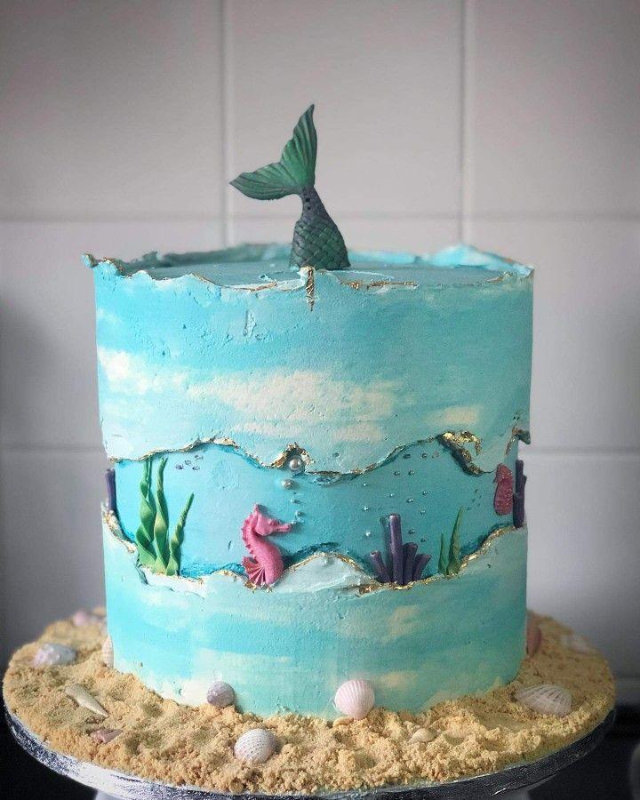 Made by Maria-Louise Cakes – Kuchenideen   – gateau anniversaire