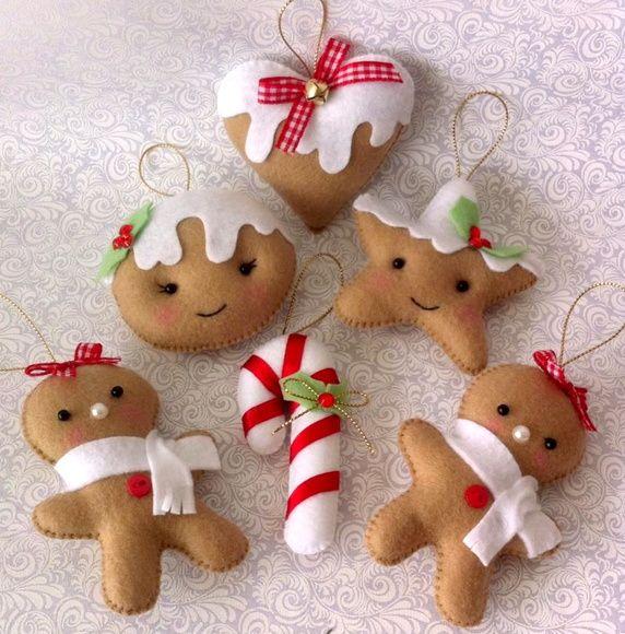Pingentes para Árvore de Natal 1