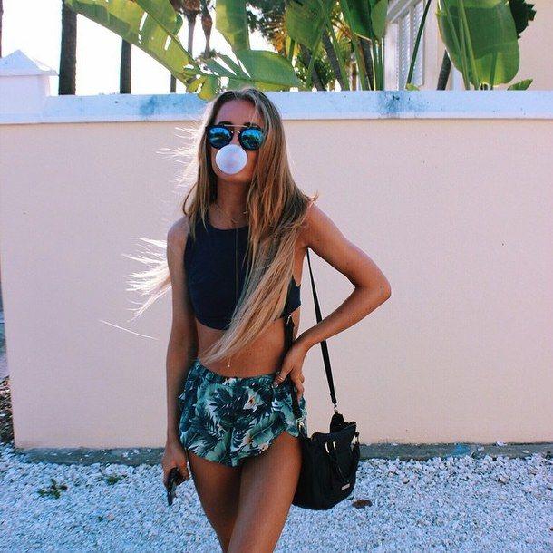 tropical tumblr girl photos - Google Search
