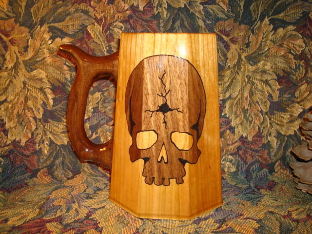 A must have!: Skull 1198, Pirate Cup, Cracked Skull
