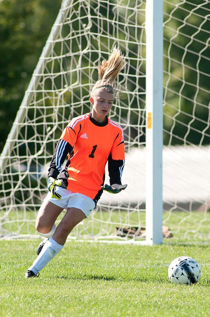 Girl's Soccer #girlskickgrass #goalmodel