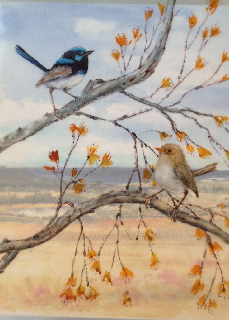 'Bird's Eye View' by Liz Butcher