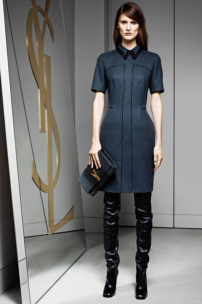 Saint Laurent Pre Fall 2012 Collection Photos   Vogue