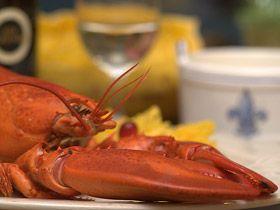 Le réputé homard des Iles de la Madeleine / The famous lobster fished in Iles de la Madeleine