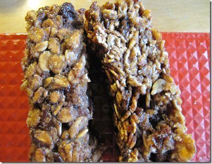 No fat-no sugar granola bars
