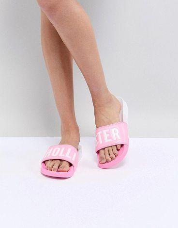 ba3e6fd971d80a Color Block Slider by Hollister. Sandals by Hollister