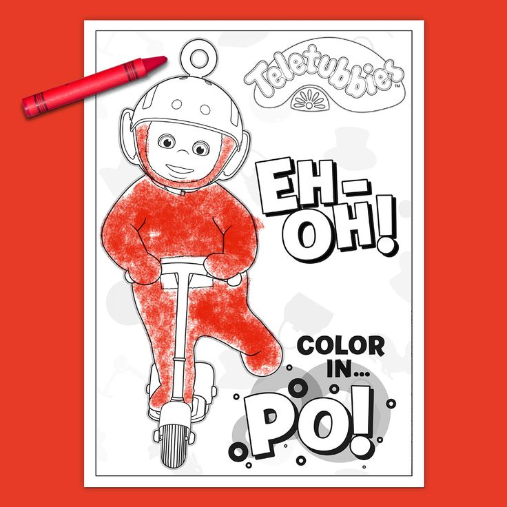 Teletubbies Coloring Books: 24 Best Jjs Board Images On Pinterest