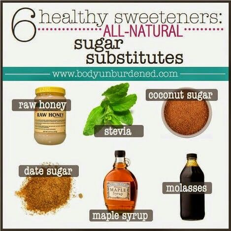 Healthy sweeteners! I'll add agave nectar to this list.   #healthyeating   #sweetners #healthy