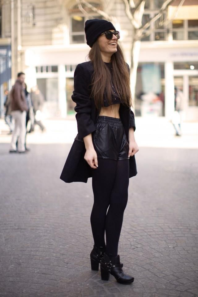 "!blacked out"" prepped during london fashion week street style"